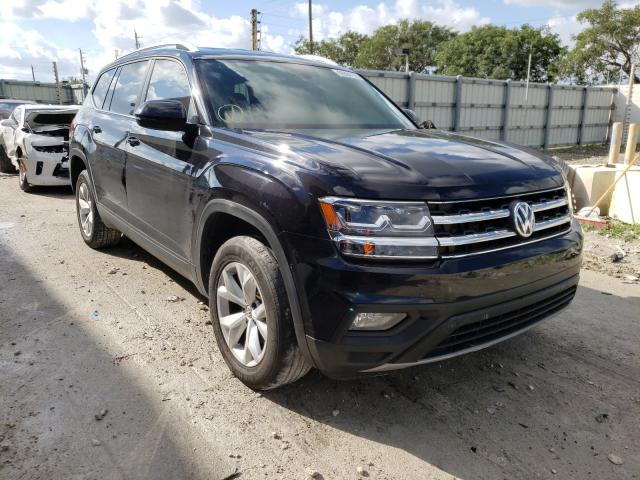Salvage cars for sale from Copart Homestead, FL: 2018 Volkswagen Atlas SE
