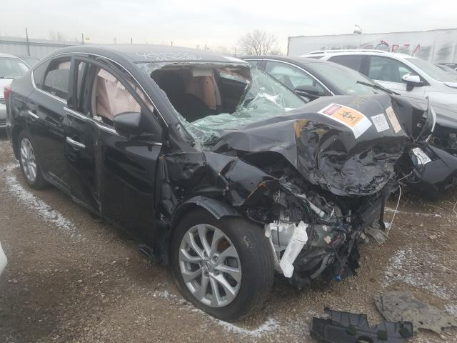 Salvage cars for sale from Copart Chicago Heights, IL: 2018 Nissan Sentra S