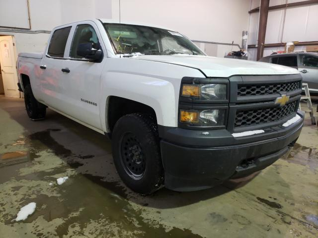 Salvage cars for sale from Copart Nisku, AB: 2014 Chevrolet Silverado