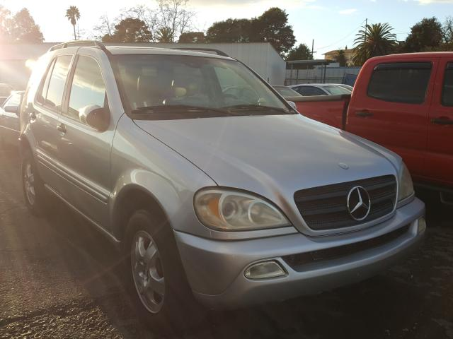 Salvage cars for sale from Copart Vallejo, CA: 2003 Mercedes-Benz ML 320