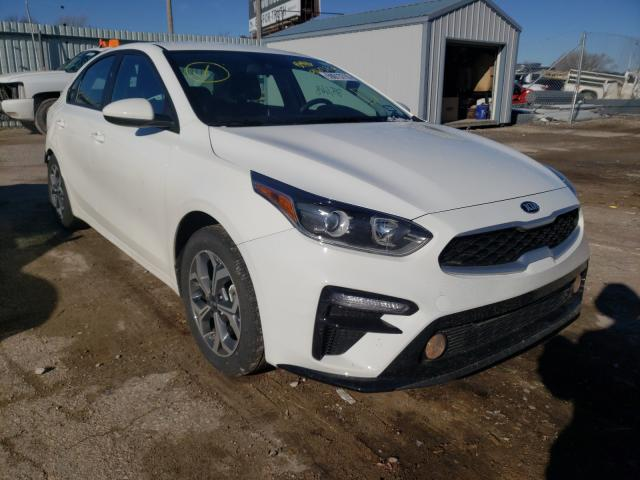 Salvage cars for sale from Copart Wichita, KS: 2020 KIA Forte FE