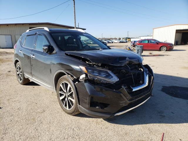 Salvage cars for sale from Copart Temple, TX: 2017 Nissan Rogue S