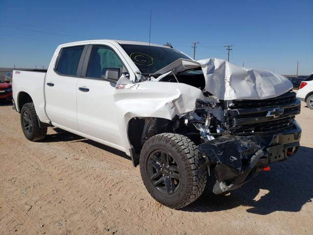 Salvage cars for sale from Copart Andrews, TX: 2020 Chevrolet Silverado