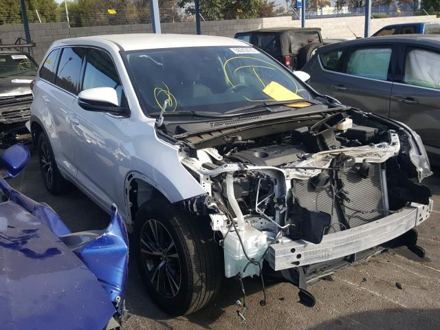 Salvage cars for sale from Copart Colton, CA: 2018 Toyota Highlander