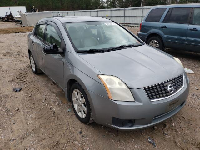 Salvage cars for sale from Copart Charles City, VA: 2007 Nissan Sentra 2.0