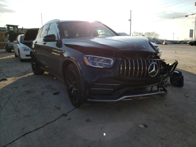 Mercedes-Benz GLC 43 4matic salvage cars for sale: 2020 Mercedes-Benz GLC 43 4matic