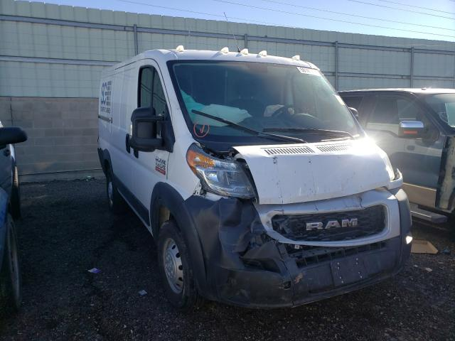 Salvage cars for sale from Copart Albuquerque, NM: 2019 Dodge RAM Promaster