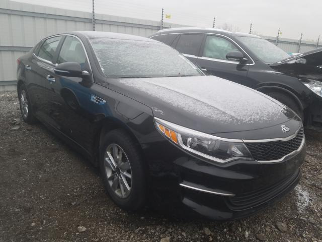 Salvage cars for sale from Copart Chicago Heights, IL: 2016 KIA Optima LX