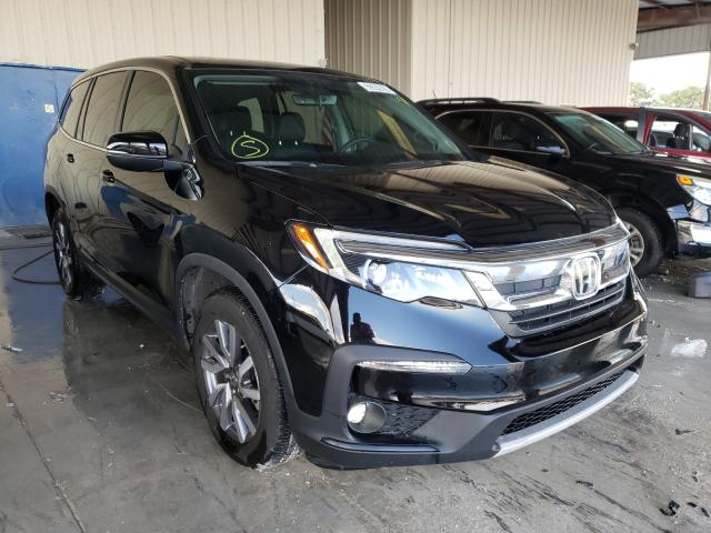 Salvage cars for sale from Copart Homestead, FL: 2020 Honda Pilot EXL
