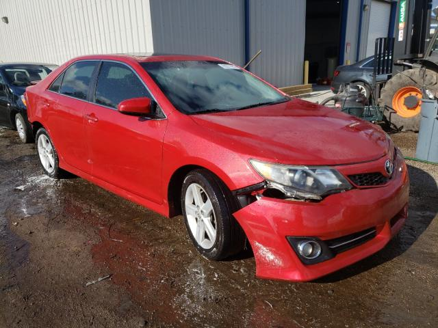 Salvage cars for sale at Harleyville, SC auction: 2012 Toyota Camry Base