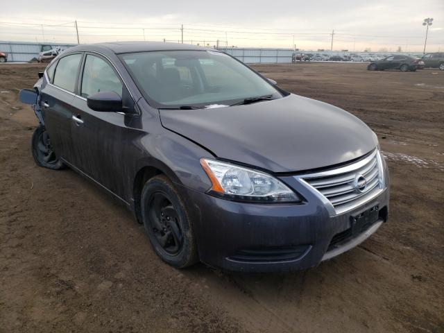 Nissan salvage cars for sale: 2015 Nissan Sentra S
