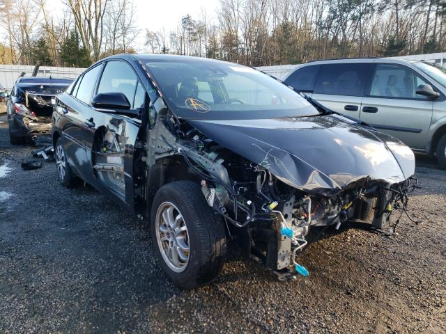 Salvage cars for sale from Copart Fredericksburg, VA: 2019 Toyota Prius