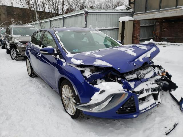 Salvage cars for sale from Copart North Billerica, MA: 2014 Ford Focus Titanium