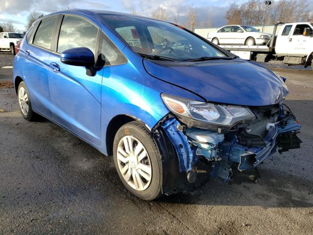 Honda FIT LX salvage cars for sale: 2017 Honda FIT LX