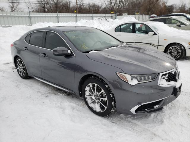 Acura TLX Tech Vehiculos salvage en venta: 2018 Acura TLX Tech