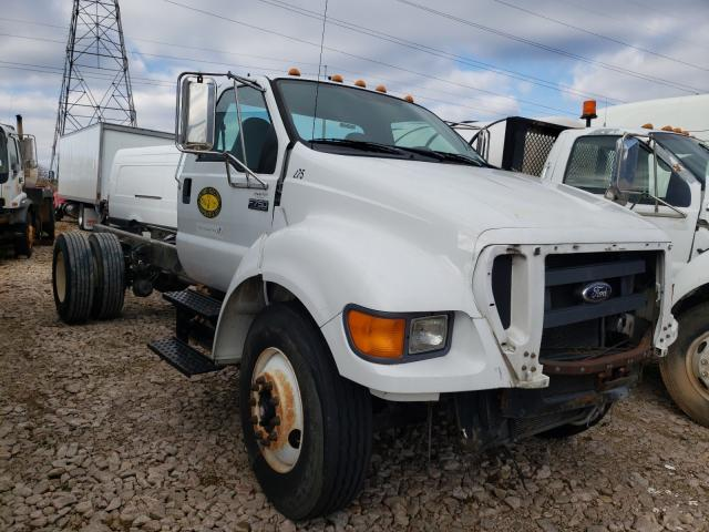 Salvage cars for sale from Copart China Grove, NC: 2009 Ford F750 Super