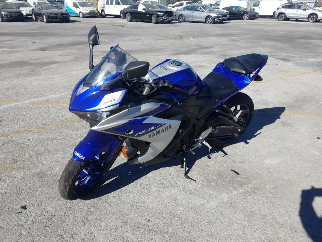 Salvage cars for sale from Copart Sun Valley, CA: 2015 Yamaha YZFR3