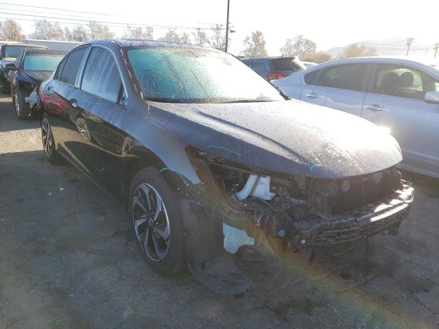 Salvage cars for sale from Copart Colton, CA: 2017 Honda Accord EXL