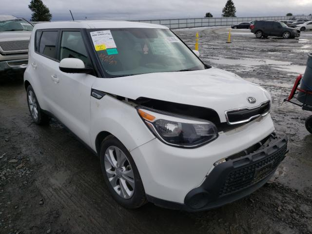 Salvage cars for sale from Copart Airway Heights, WA: 2015 KIA Soul +