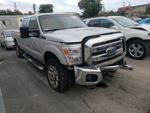 Salvage cars for sale from Copart Opa Locka, FL: 2011 Ford F250 Super