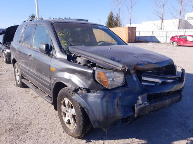 Salvage cars for sale from Copart Courtice, ON: 2006 Honda Pilot EX