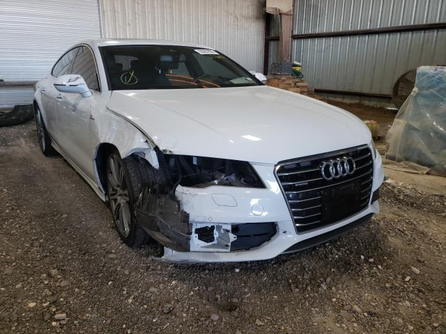 Salvage cars for sale from Copart Houston, TX: 2015 Audi A7 Prestige