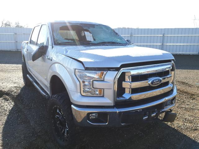 Salvage cars for sale from Copart Anderson, CA: 2015 Ford F150 Super