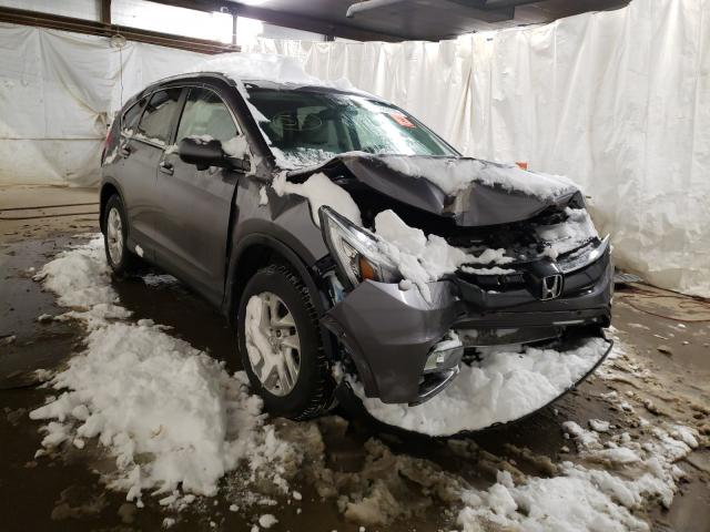 Salvage cars for sale from Copart Ebensburg, PA: 2016 Honda CR-V EXL