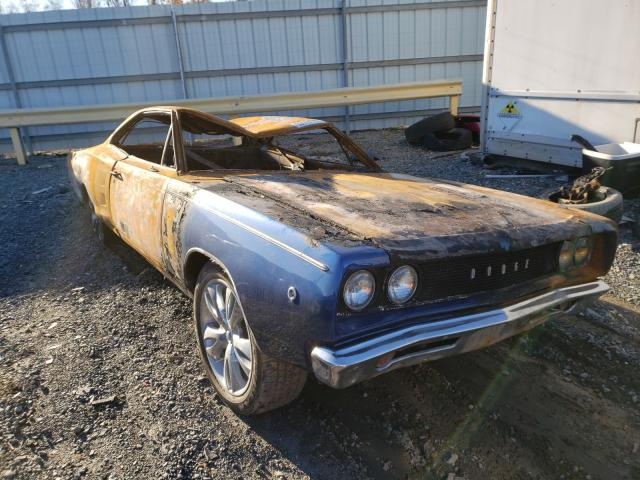 Dodge Coronet salvage cars for sale: 1968 Dodge Coronet