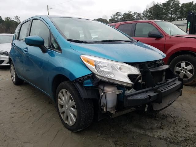 Salvage cars for sale from Copart Ellenwood, GA: 2016 Nissan Versa Note