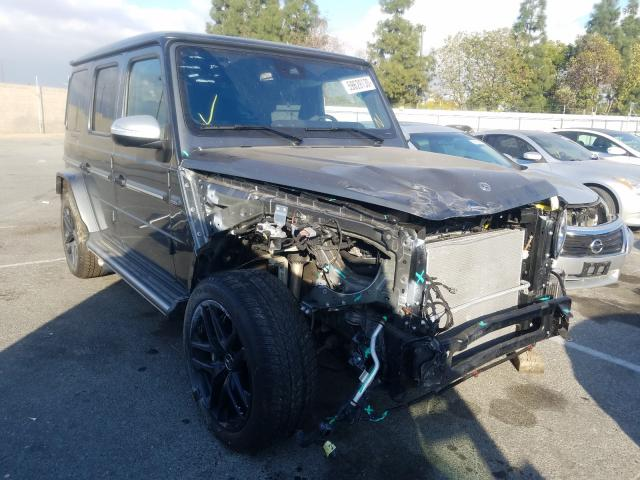 Salvage cars for sale from Copart Rancho Cucamonga, CA: 2020 Mercedes-Benz G 63 AMG