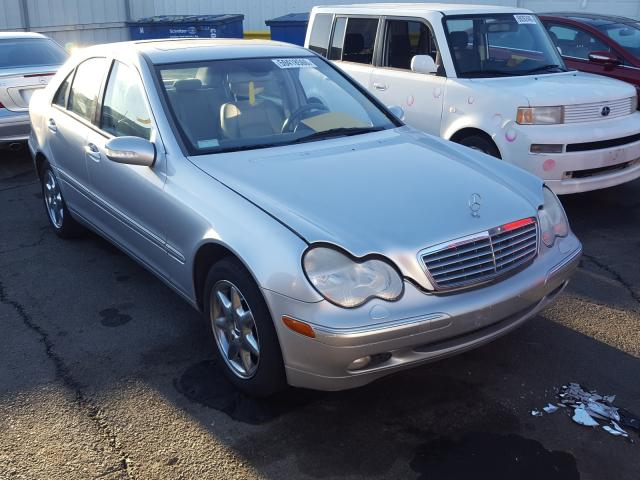 Salvage cars for sale from Copart Vallejo, CA: 2001 Mercedes-Benz C 240