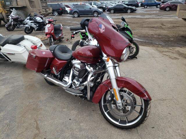Salvage cars for sale from Copart Elgin, IL: 2020 Harley-Davidson Flhx