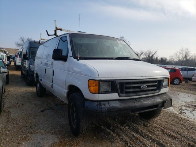 Salvage cars for sale from Copart Bridgeton, MO: 2004 Ford Econoline