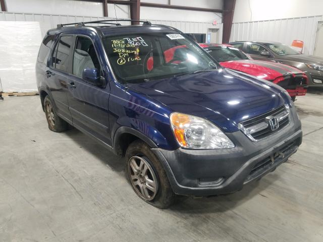 Honda CRV salvage cars for sale: 2002 Honda CRV