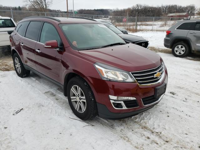 Salvage cars for sale from Copart Madison, WI: 2015 Chevrolet Traverse L