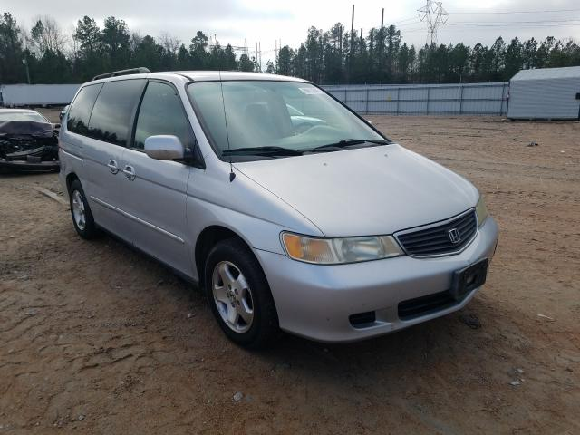 Salvage cars for sale from Copart Charles City, VA: 2001 Honda Odyssey