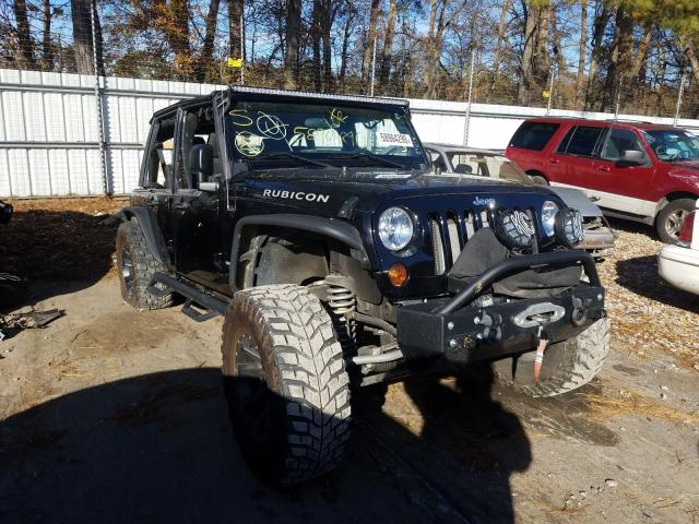 Vehiculos salvage en venta de Copart Austell, GA: 2011 Jeep Wrangler U