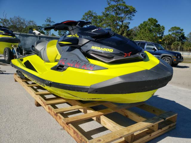 Salvage cars for sale from Copart Fort Pierce, FL: 2018 Seadoo RXT300