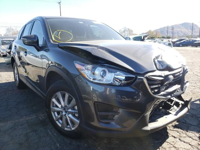 Salvage cars for sale from Copart Colton, CA: 2016 Mazda CX-5 Sport