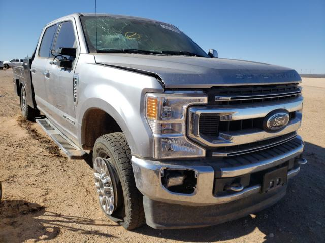 Salvage cars for sale from Copart Andrews, TX: 2020 Ford F350 Super