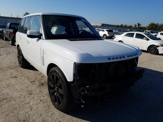 Salvage cars for sale from Copart Houston, TX: 2012 Land Rover Range Rover