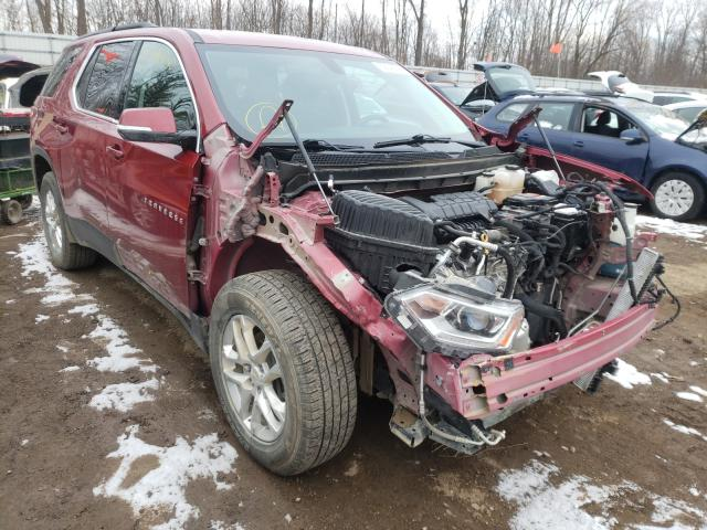 Chevrolet Traverse salvage cars for sale: 2019 Chevrolet Traverse