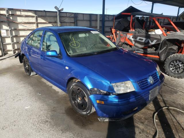 Volkswagen salvage cars for sale: 2001 Volkswagen Jetta GLS