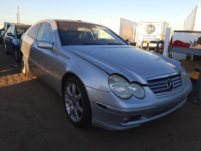 Mercedes-Benz salvage cars for sale: 2004 Mercedes-Benz C 230K Sport