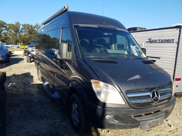 Salvage cars for sale from Copart Ocala, FL: 2008 Dodge Sprinter 2