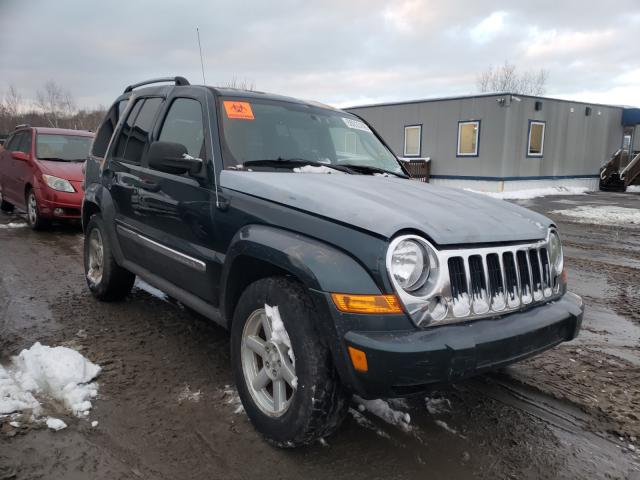 Salvage cars for sale from Copart Duryea, PA: 2005 Jeep Liberty