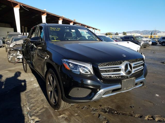Mercedes-Benz salvage cars for sale: 2018 Mercedes-Benz GLC 300 4M
