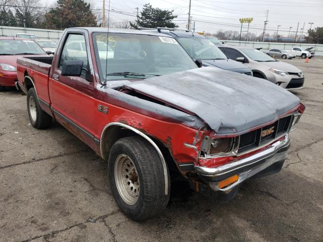 GMC S Truck S1 salvage cars for sale: 1990 GMC S Truck S1
