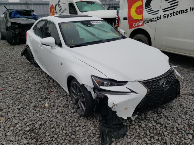 Salvage cars for sale from Copart Bowmanville, ON: 2019 Lexus IS 350